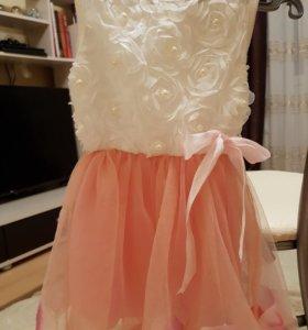 Красивое платье, 86 см.