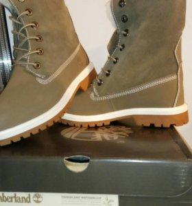 Тимберлэнд женские зимние ботинки