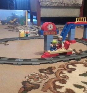 Лего железная дорога