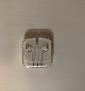Earpods от iPhone 5s gold
