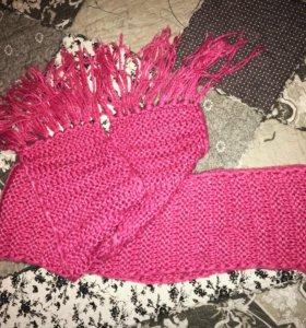 Новый вязаный шарф