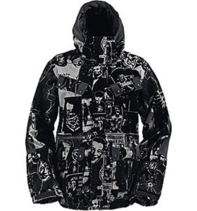 Burton Ronin Snowboard Jacket зимняя куртка парка