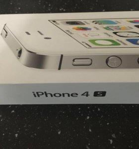 iPhone 4s 8Gb в хорошем состоянии, небольшой торг