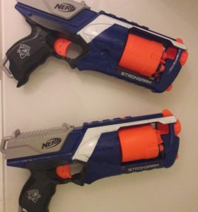 Игрушечный пистолет Nerf Strongam