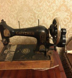 Немецкая швейная машинка Gritzner
