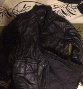 Зимний костюм сварщика, кожаный