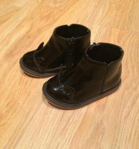 Zara ботинки.