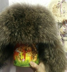 Продам НОВУЮ натуральную мужскую зимнюю шапку
