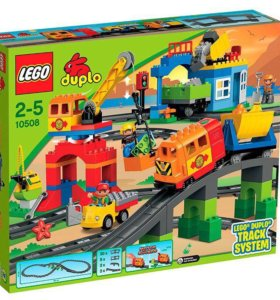 Лего Большой поезд