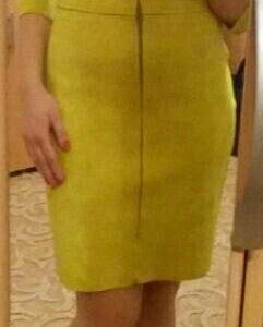 Платье замша (s) новое
