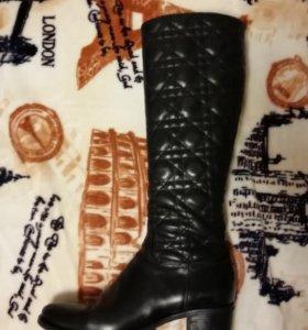 Сапоги женские натур. кожа 38р, демисезонные
