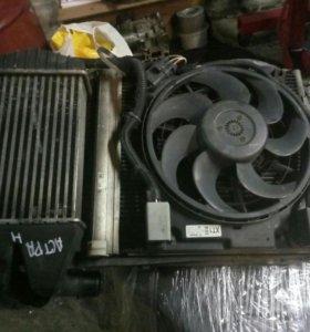 Касета радиаторов Opel Astra H