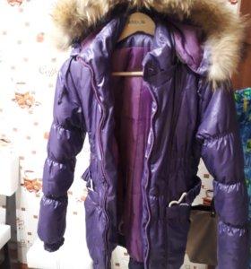 Зимний осенний  пуховик, куртка