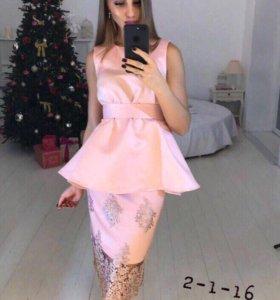Платье (юбка+кофточка)