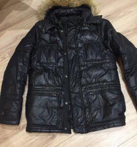 Куртка пуховик зимний мужской