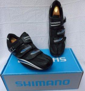 Велотуфли Shimano R087