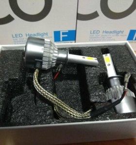 Светодиодные лампы С6. Цоколь Н1