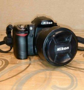 Nikon d80 фотоаппарат зеркальный