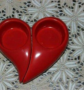 "Подсвечник ""сердце"""