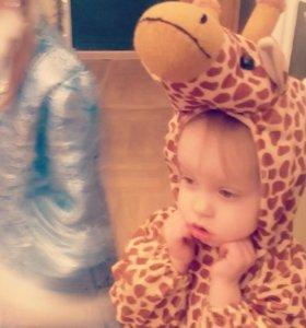 Новогодний костюм жирафика