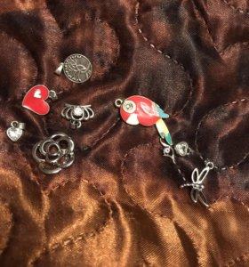 Украшение кулон подвеска для цепочки браслет