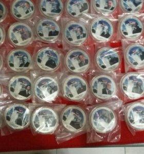 Набор сувенирных монет