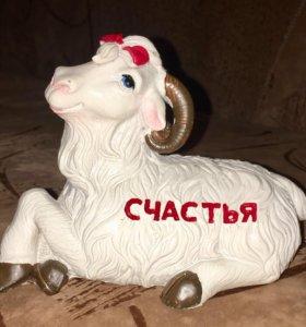 Копилка «Коза» новая