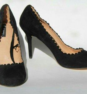 Новые туфли H&M, замша