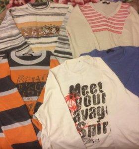 Мужская одежда пакетом