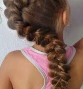 Детские стрижки . Плетение кос . На дому