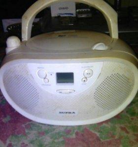 Supra Cd-mp3 player BB-CD105 white