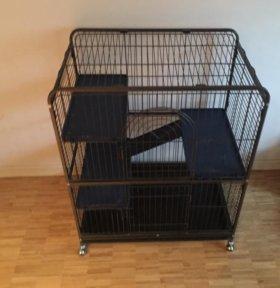 клетка вольер грызунам животным кошкам хорькам