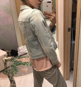 Джинсовая куртка (джинсовка) zara