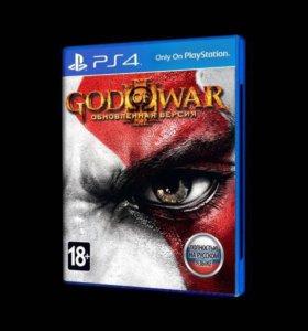 God of War на PS4 (новый)