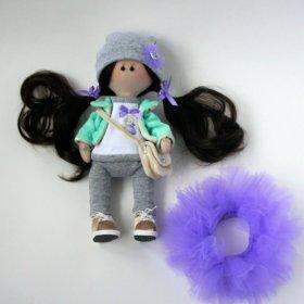 Интерьерная куколка ручная работа.