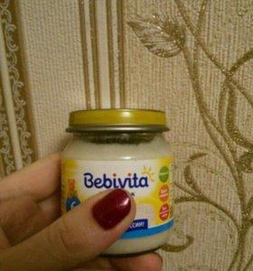 Детское овощное пюре Бебивита