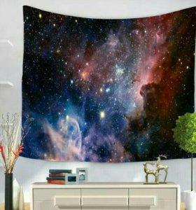 Интерьерная ткань в космическом стиле