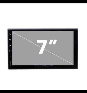 2din авто магнитола Андройд 5.1