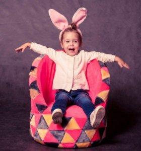 Детские кресла «Геометрия»