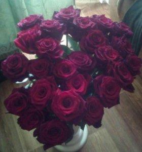 Розы, хризантемы,тюльпаны , лилии ,