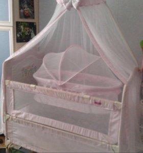 Кроватка для девочки Geobi