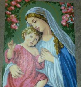 Картина. Мария с младенцем