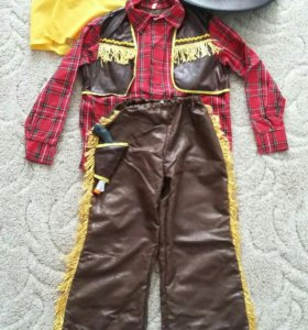 Новогодний костюм ковбой 7-8 лет