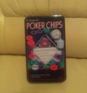 Набор покерный на 100 фишек