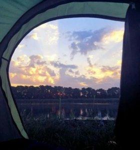 Палатка 4-х спальная