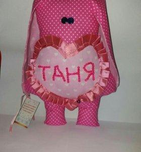 Мягкая игрушка Зайка