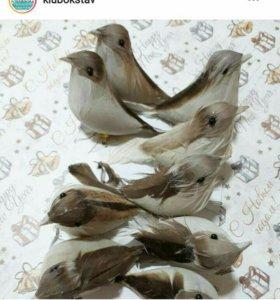 Птички декоративные 8-10 см