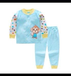 Нежные детские пижамки