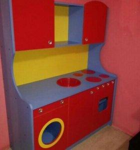 Игровая детская кухня рассрочка