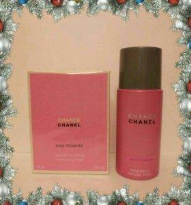 Chanel Chance eau tendre (розовый)